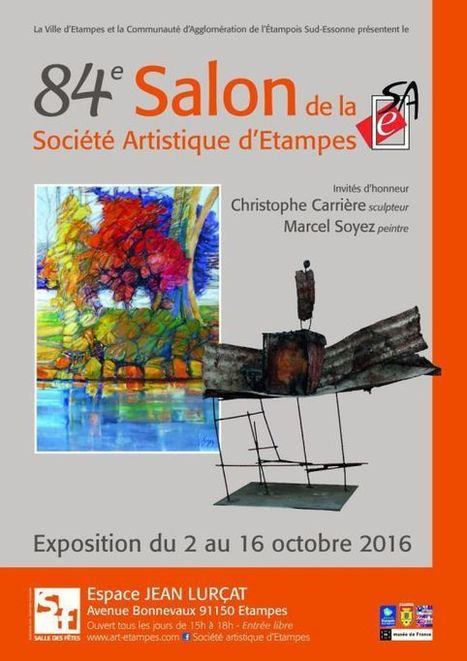 84e salon d'art d'Etampes | Tous les événements à ne pas manquer ! | Scoop.it