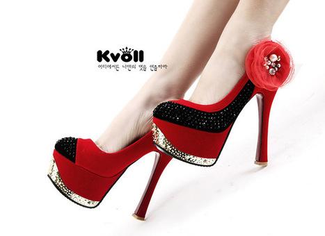 Wholesale Wholesale kvoll shoes fashion sexy platform ladies pumps D67295 - Lovely Fashion | fashion chic styles(peep toe,pumps) | Scoop.it