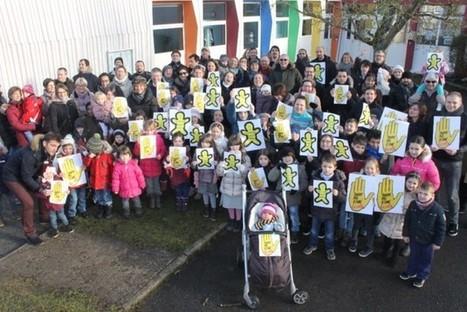 Les parents battent le pavé pour l'école Louis-Pergaud | LAURENT MAZAURY : ÉLANCOURT AU CŒUR ! | Scoop.it