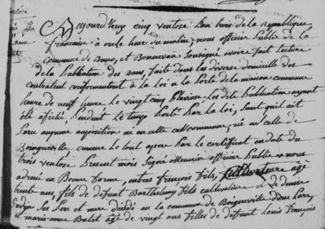 Histoires d'Aïeux, le blog !: François Fils et ses femmes   GenealoNet   Scoop.it