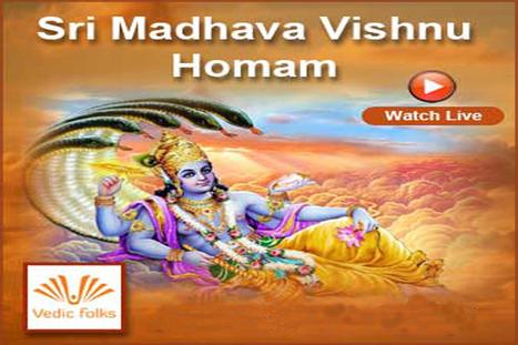 Madhava Vishnu homam, Vishnu sahasranama,l