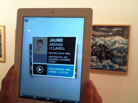 1st ever Augmented Reality linking to Wikipedia in a museum | Museums & Wikipedia | Scoop.it