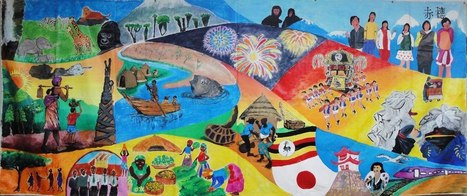 International Intercultural Mural Exchange | iEARN in Action | Scoop.it