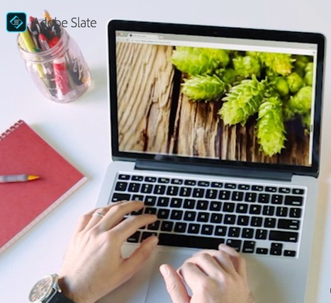 Make a beautiful visual story. In minutes. | Adobe Slate | Digital Tools for the Classroom | Scoop.it