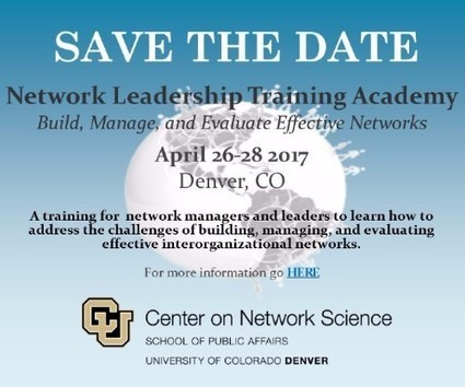 Network Leadership Learning Opportunities – Register for Upcoming Webinars and 5th Annual Training Academy | Network Leadership | Scoop.it