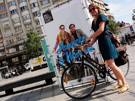 Le vélo, c'est chic place Flagey - lavenir.net | Des yeux sur le deux-roues | Scoop.it