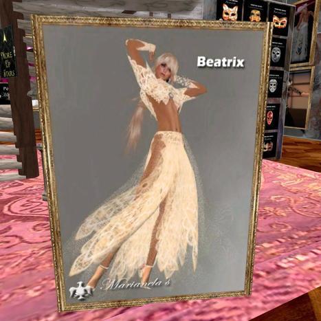 Beatrix Dress Grand Opening Gift By Marianela