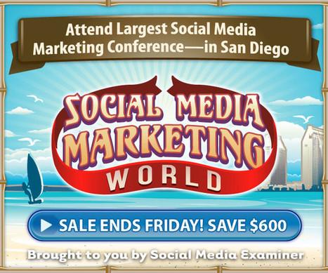 5 Ways B2B Marketers Use Facebook : Social Media Examiner   Facebook Daily   Scoop.it