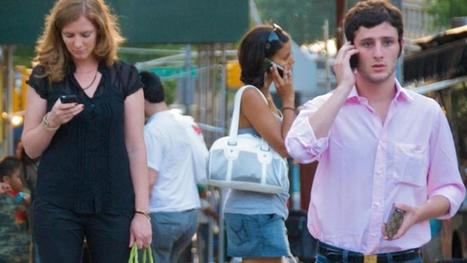 Cellphone Addiction May Be Contagious, Study Finds | Mobile (Post-PC) in Higher Education | Scoop.it