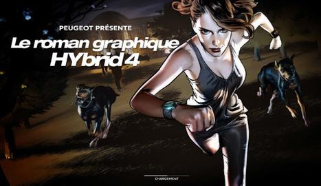HyBrid4 Graphic Novel : Quand Peugeot expérimente le storytelling en 4D ! | Nouvelles écritures et transmedia | Scoop.it