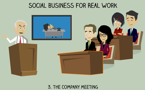 Social Business For Real Work 3: The Company Meeting - Business 2 Community | Corporate Social Business | Scoop.it