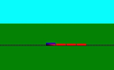OpenGL Projects: Running Train Opengl Projects