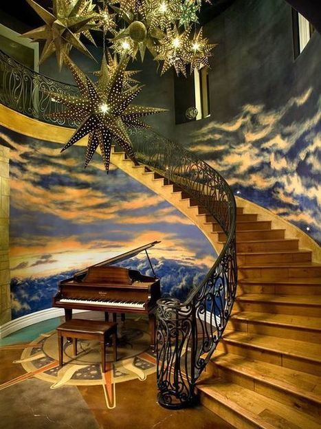 Fun Décor Tips for Staircases - Home Decorating Trends | Designing Interiors | Scoop.it