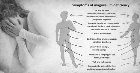 Magnesium Deficiency: How It Affects Your Health And How To Fix It | Ken's Odds & Ends | Scoop.it