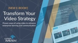 Free eBook: Transform Your Video Learning Strategy | CUED | Scoop.it