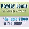 Saving Account Payday Loans