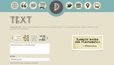 5 aplicaciones para crear imágenes con frases para compartir | Recursos Educativos Abiertos | Scoop.it