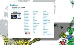 Newspaper Map. Une carte mondiale des journaux. | Urba | Scoop.it