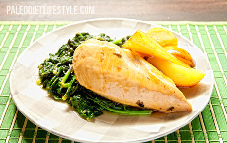 Balsamic Chicken and Pears with Spinach | Paleo Diet Lifestyle | Coool Recipes! | Scoop.it