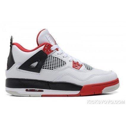 Women s Air Jordan 4 Air Planet Low White Red  1c97c71229