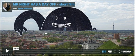Cute Animation Imagines How Day Turns into Night | Art for art's sake... | Scoop.it