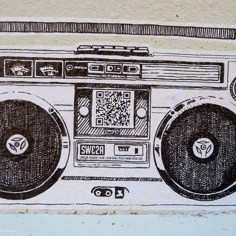 Street Art + QR code = Marketing musical innonvant ! | Street Arts | Scoop.it