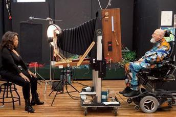 Chuck Close Photographs the 2014 Hollywood Portfolio With a Polaroid Camera | Art contemporain et histoire de l'art | Scoop.it