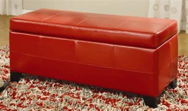Upholstered Milano Bench w Storage | Personal | Scoop.it
