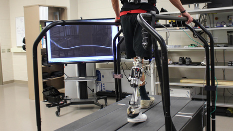New software Tech Automatically 'Tunes' Powered Prosthetics While Walking   Medical Engineering = MEDINEERING   Scoop.it