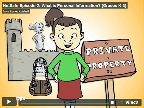 Educational Videos: NetSafe Episode 2: What is Personal Information? (Grades K-3) | UpTo12-Learning | Scoop.it