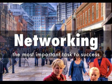 Networking - A Haiku Deck by Martin Gysler | BUSINESS and more | Scoop.it
