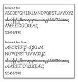 Le numérique dans le 1er degré - Polices de caractères cursives pour l'enseignement de l'écriture - Éduscol | Ressources éducatives libres (OCW, OEC et REL) | Scoop.it