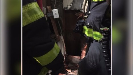 Nearly naked man found trapped inside New York City apartment wall | MORONS MAKING THE NEWS | Scoop.it