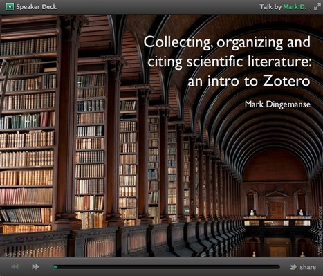 Slides for a hands-on Zotero workshop | The Ideophone | Zotero | Scoop.it