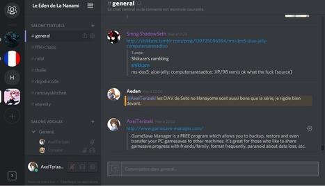 Discord – Oubliez Skype, Teamspeak et Mumble, la relève est là | Gestion de l'information | Scoop.it