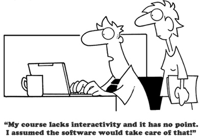 Adult Learning Principles in eLearning (cartoon...