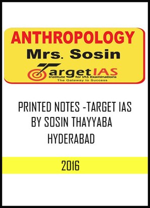 EVOLUTION ZOOLOGY PRINTED NOTES for IAS and IFo