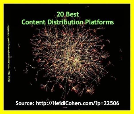 20 Best Content Distribution Platforms [Research / Chart] - Heidi Cohen | Links sobre Marketing, SEO y Social Media | Scoop.it