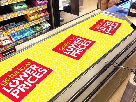 Checkstand Belt Cover Promotes Jewels Lower Prices | Technology content from Supermarket News | Brand Awareness in The Caribbean | Scoop.it