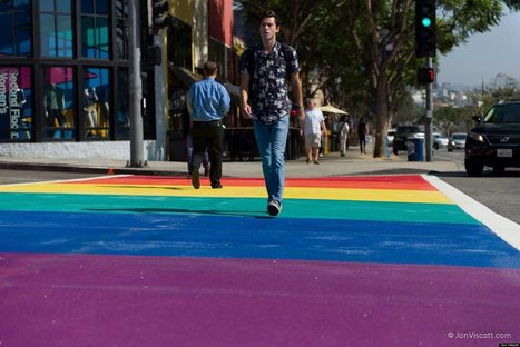 Why I, A Straight Man, Wanted West Hollywood To Be A Little Gayer And Have Rainbow Crosswalks | Food123 | Scoop.it