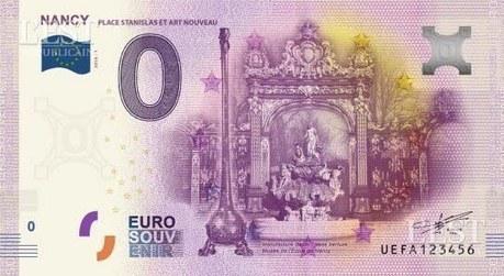 Le vrai faux billet de l'OT de Nancy | L'office de tourisme du futur | Scoop.it