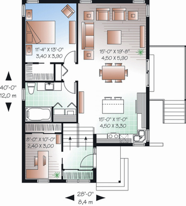 Desain Rumah Minimalis Type 36 Unik Min Gambar Ukuran 6x9