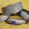 Pave Diamond Bangle | Diamond Jewelry | GemcoDesigns