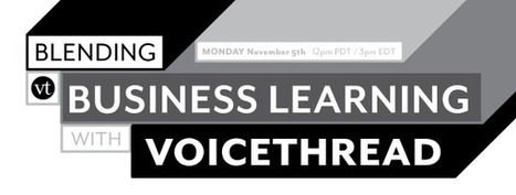 Webinars - VoiceThread | Best Free Online Presentation Tools | Scoop.it