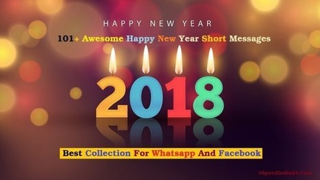 101 awesome happy new year short message quotes shayari 2018