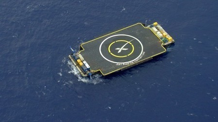SpaceX Falcon 9 makes landing on drone barge ... then tips over | Five Regions of the Future | Scoop.it