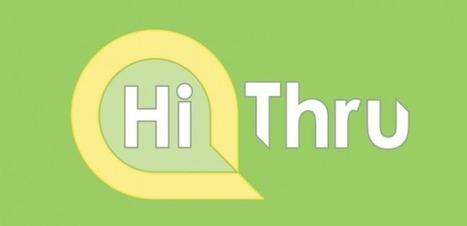 Hithru – Para conocer gente a través de hashtags   Brújula Analógica-Digital.   Scoop.it