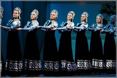 The Berezka Ensemble – Russia's Floating Dance Group | Strange days indeed... | Scoop.it