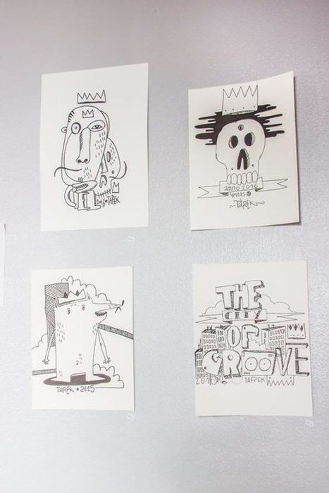 Exposition au Studio Longboard à Hambourg   The art of Tarek   Scoop.it