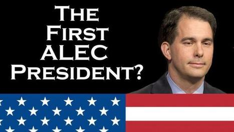 Scott Walker: The First ALEC President? | Coffee Party News | Scoop.it